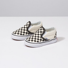 Load image into Gallery viewer, Vans Toddler Slip On - Black & White Checkerboard