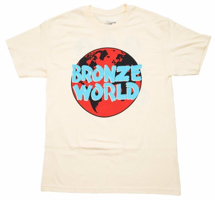 Bronze 56K Bronze World Tee - Cream
