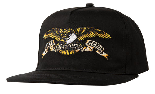 Antihero Eagle Snapback Hat - Black