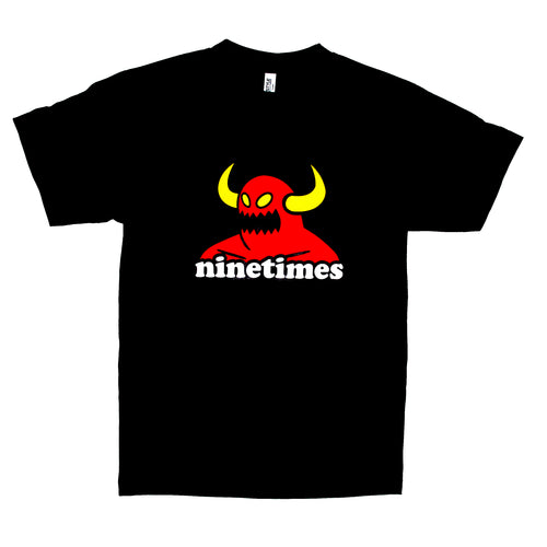 Toy Machine X Ninetimes Monster Youth Tee - Black