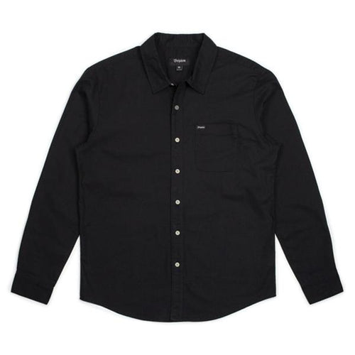 Brixton Charter Oxford L/S - Black