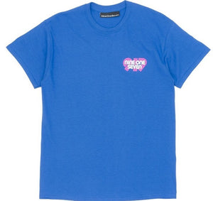 Call Me 917 Swiss Alps Tee - Blue