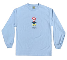Load image into Gallery viewer, Frog Mr. Greg Longsleeve - Baby Blue