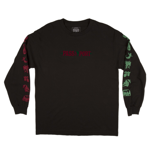 Pass-Port Life Of Leisure Longsleeve - Black