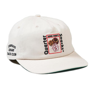 Quartersnacks Party Cap - Off White