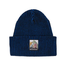 Load image into Gallery viewer, Bronze 56K Mountain Beanie - Blue