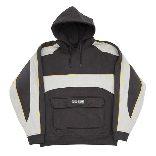 Bronze 56K Piping Hoody - Dark Grey