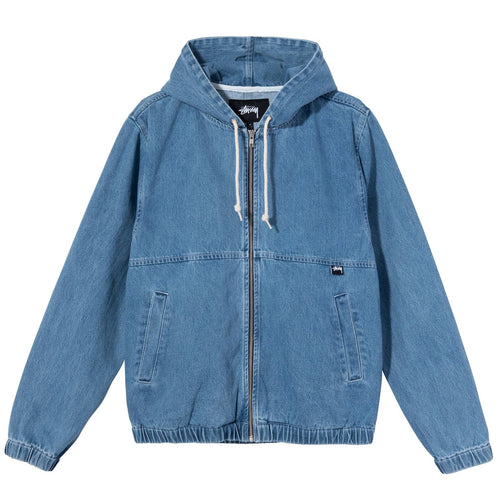 Stussy Denim Work Jacket - Indigo