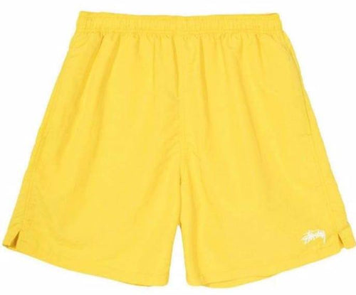 Stussy Stock Water Short - Yellow