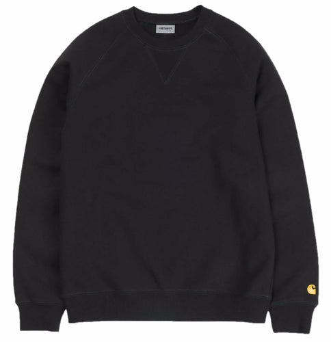Carhartt WIP Chase Crewneck - Black/Gold