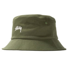 Load image into Gallery viewer, Stussy Stock Bucket Hat - Olive