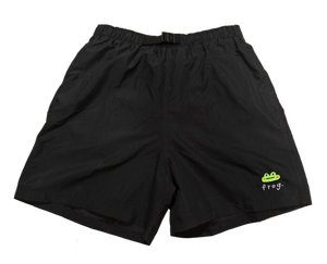 Frog Swim Trunks - Black