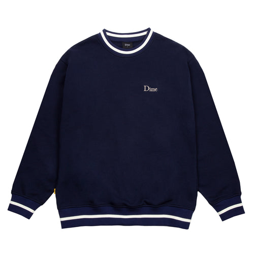 Dime Classic French Terry Crewneck - Navy