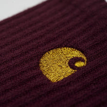 Load image into Gallery viewer, Carhartt WIP Chase Socks - Merlot