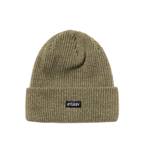 Stussy Small Patch Watch Cap Beanie - Olive