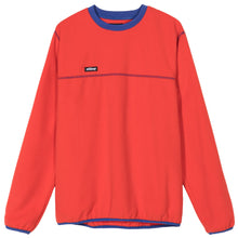 Load image into Gallery viewer, Stussy Polar Fleece Crew - Red