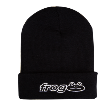 Frog Works! Beanie - Black