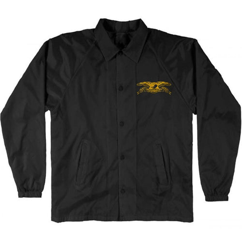 Anti Hero Stock Eagle Patch Coaches Jacket Black