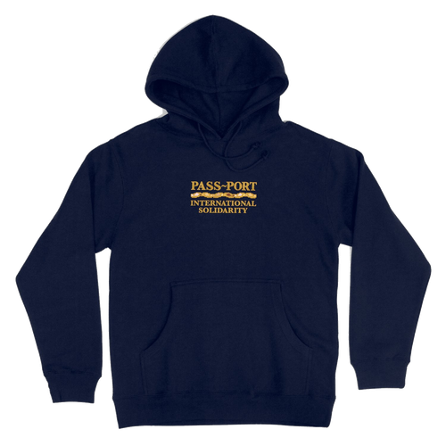 Pass-Port International Solidarity Hoodie - Navy