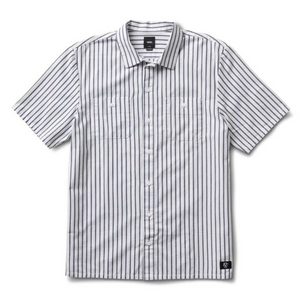Vans Rowan Workwear Shirt - White/Dress Blue