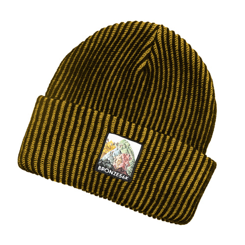 Bronze 56K Mountain Beanie - Yellow