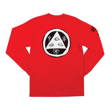 Load image into Gallery viewer, Welcome Tali-Scrawl L/S Tee - Red/Black/White