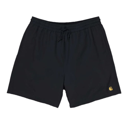 Carhartt WIP Chase Swim Trunks - Black/Gold