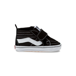 Vans Infant SK8-Hi Crib - Black/True White