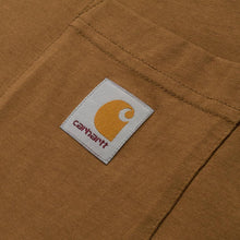 Load image into Gallery viewer, Carhartt WIP Pocket Tee - Hamilton Brown
