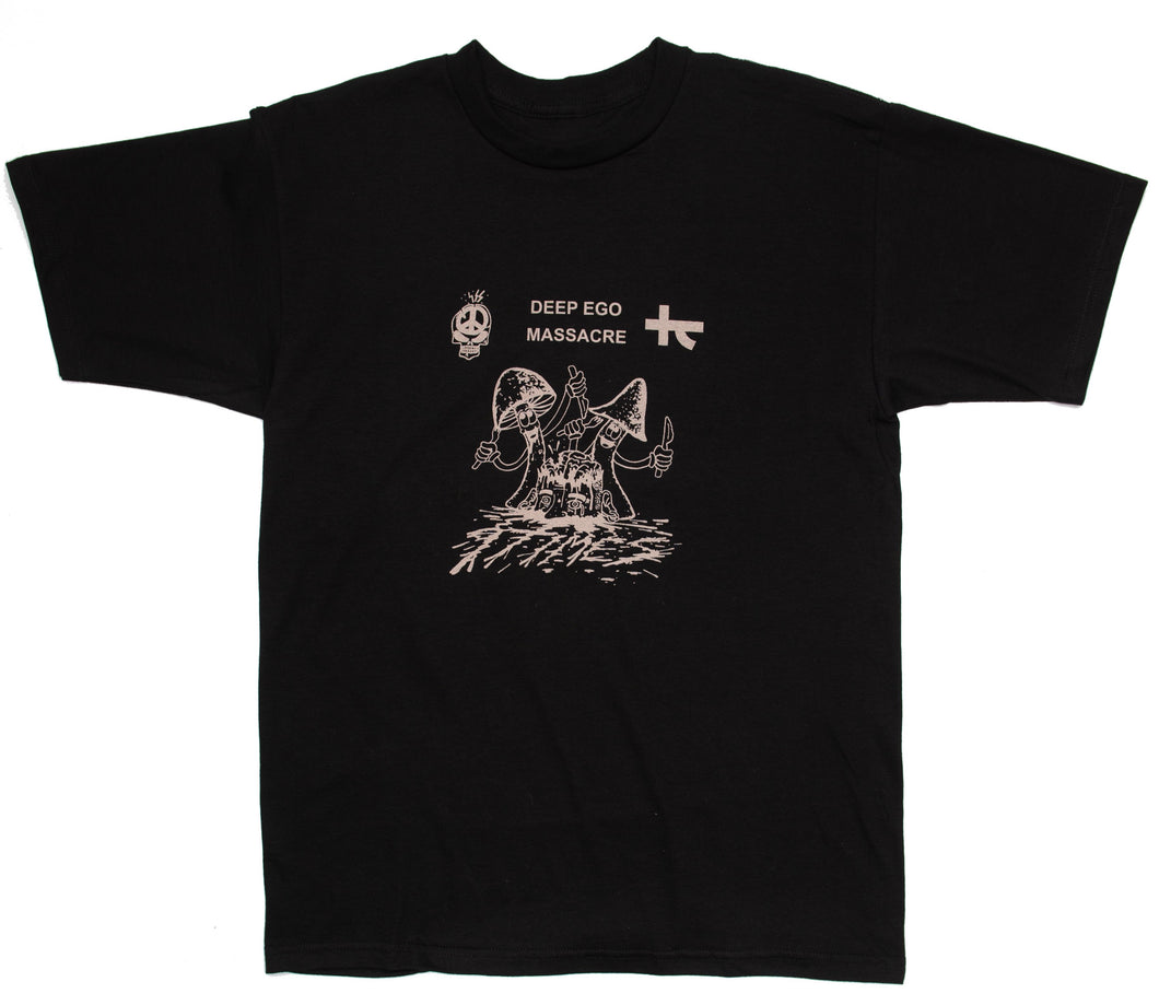 Ninetimes Ego Massacre Tee - Black