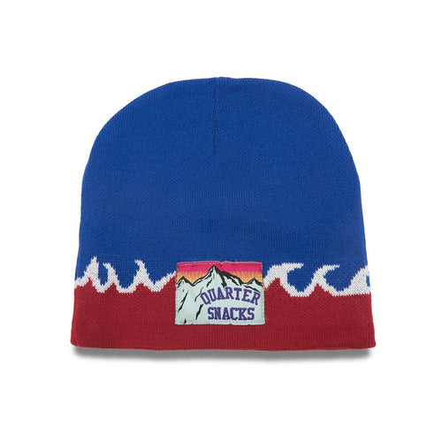 Quartersnacks Flame Beanie - Royal