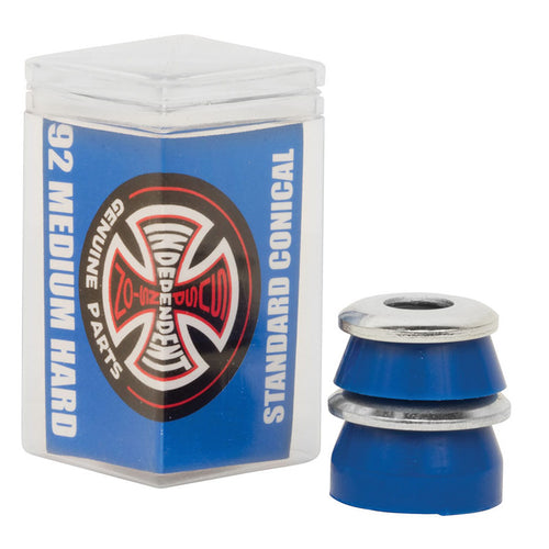 Independent Standard Conical Bushings 4PK - Medium Hard 92A Blue