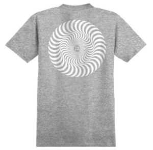 Spitfire Classic Swirl Tee - Athletic Heather