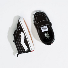 Load image into Gallery viewer, Vans Infant SK8-Hi Crib - Black/True White