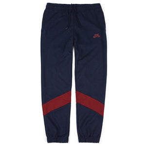Nike SB Dry Icon Track Pant - Obsidian/Team Red