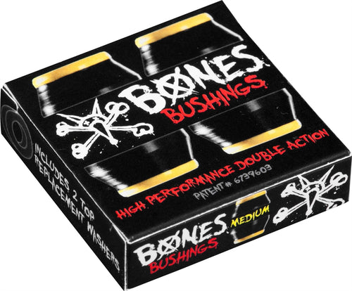 Bones Hardcore Bushings Medium - Black