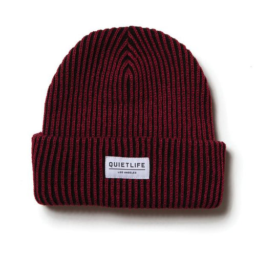 The Quiet Life Vertical Beanie - Red