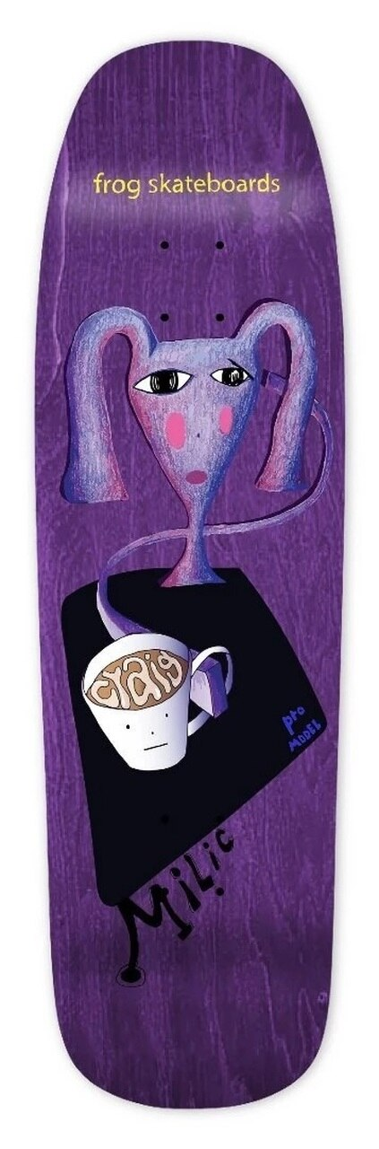 Frog Craig Milic Shaped Deck - 9.0