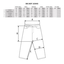 Load image into Gallery viewer, Polar Big Boy Jeans - Dark Blue