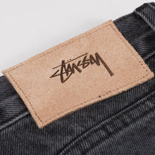 Load image into Gallery viewer, Stussy Big Ol' Jean - Black