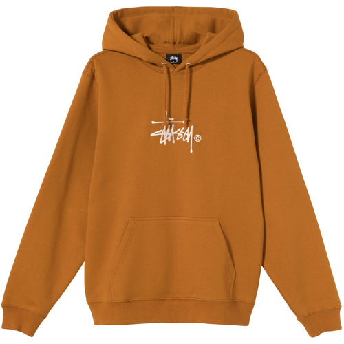 Stussy Copyright Stock Embroidered Hoodie - Caramel