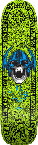Powell Peralta Welinder Nordic Skull Freestyle Deck - 7.25 x 29  Lime Green