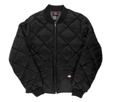 Load image into Gallery viewer, Dickies Diamond Quilted Nylon Jacket - Black