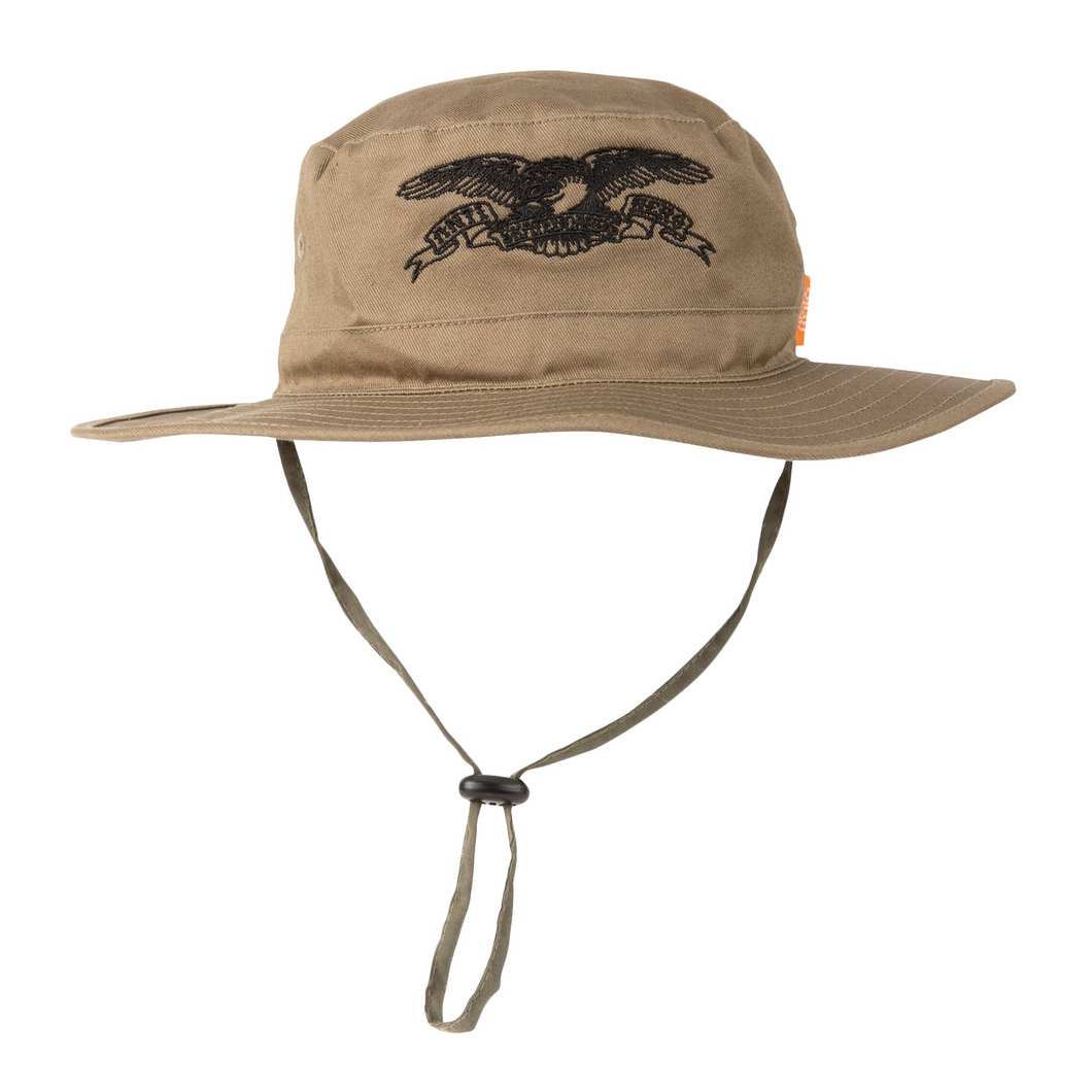 Anithero Basic Eagle Boonie Hat - Olive/Black