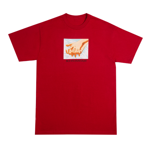Sci-Fi Fantasy Hands Tee - Red