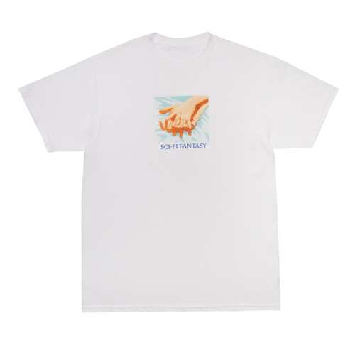 Sci-Fi Fantasy Hands Tee - White