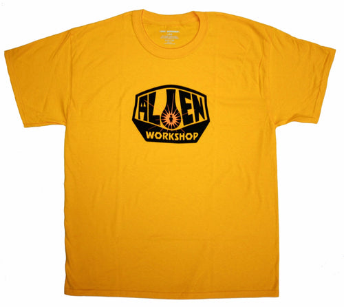 Alien Workshop OG Logo Tee - Gold