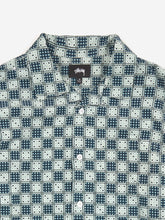 Load image into Gallery viewer, Stussy Dice Checker Shirt - Indigo