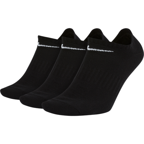 Nike Lightweight Everyday No-Show Sock 3-Pack - Black