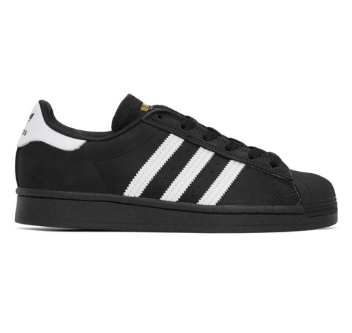 Adidas Superstar ADV - Black/White/Gold Metallic